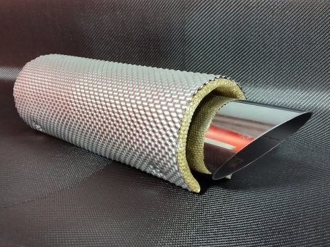 Microporous Insulation Exhaust Shield