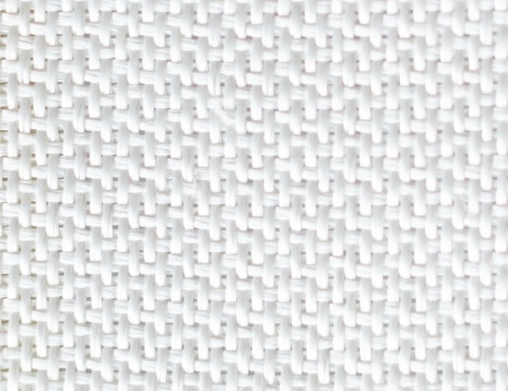 close up of alumina fabric