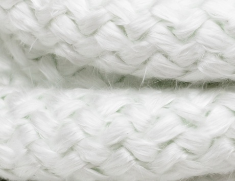 Fiberglass Round-Knitted Ropes